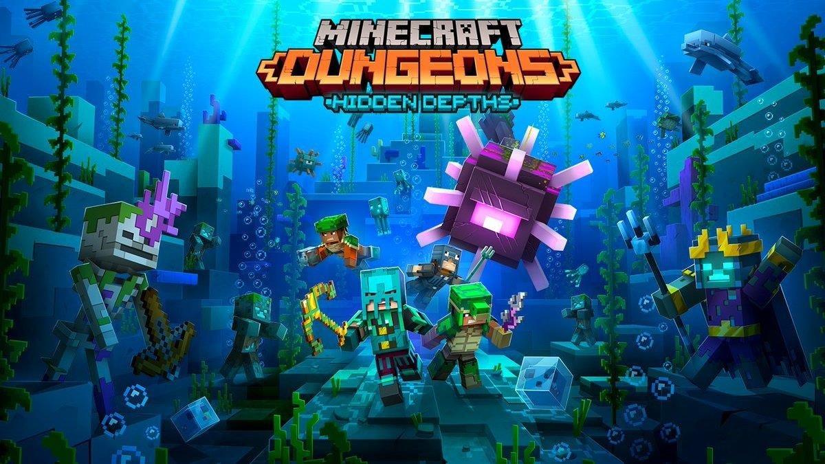 Fecha de lanzamiento del contenido descargable de Minecraft Dungeons Hidden Depths