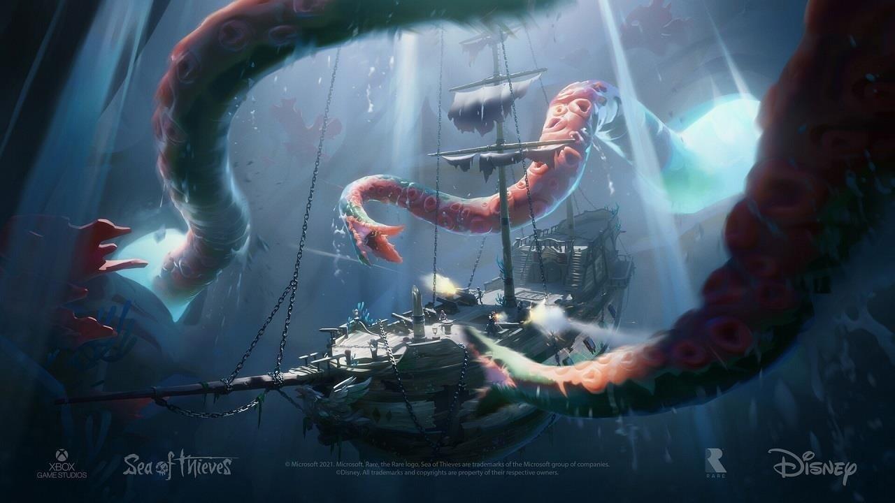 Sea of Thieves, un escaparate de arte conceptual de vida pirata raro
