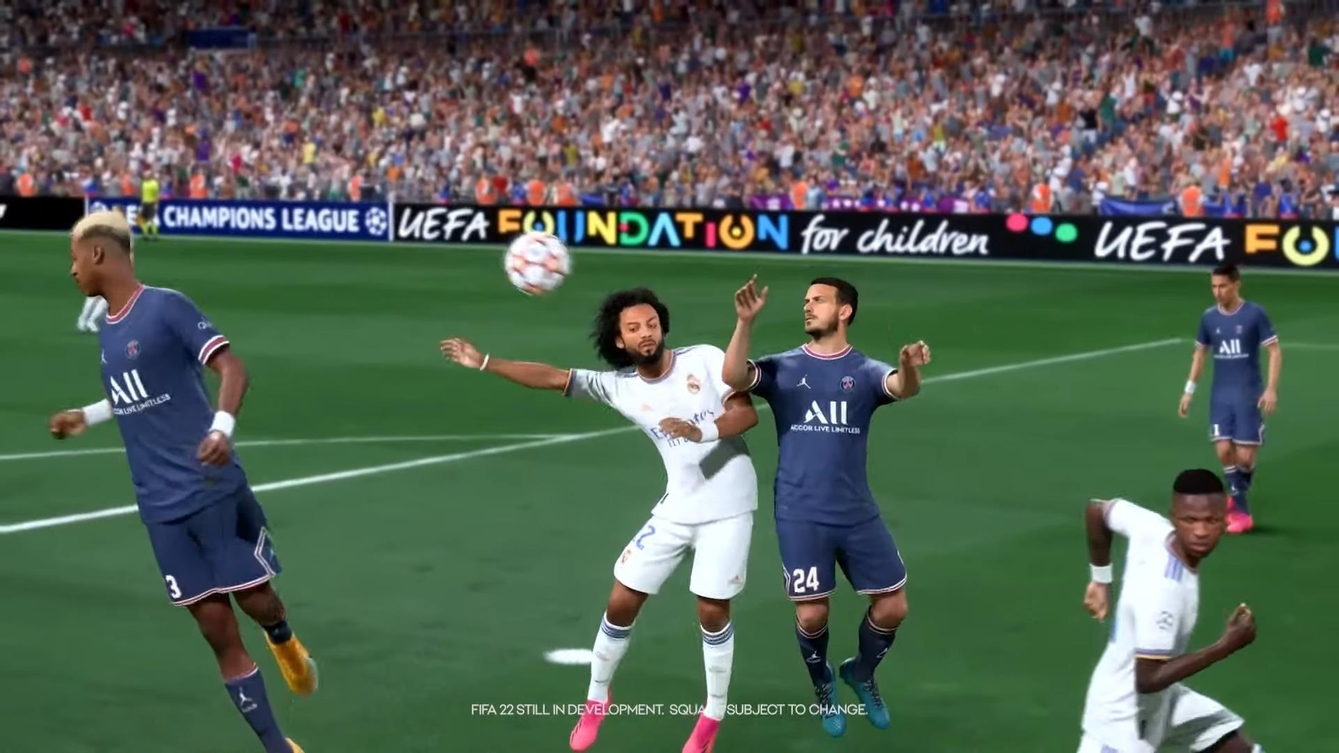 Capturas de pantalla de FIFA 22